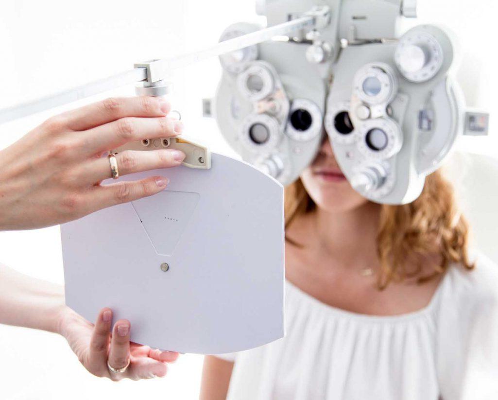 test vision santé et optometrie oeil femme exavue paris
